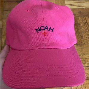 NWT NoahNYC rose pink 6 panel cap unisex